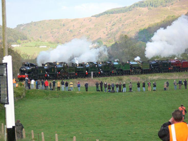Steam locomotive festival!