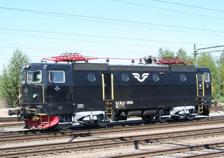 Swedish Rc3 electric locomotive 1056