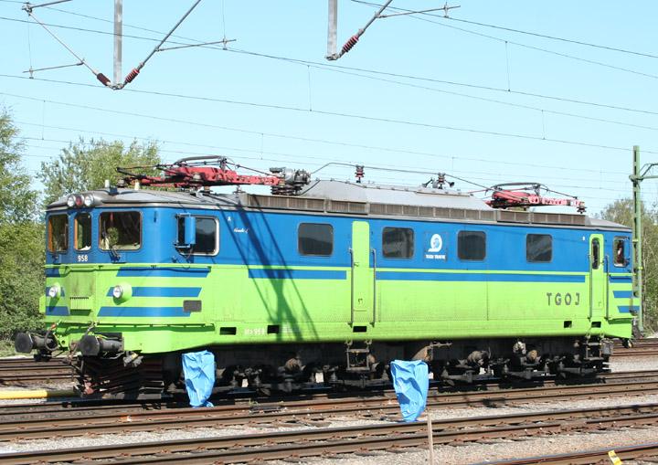 TGOJ MA Class electric freight locomotive