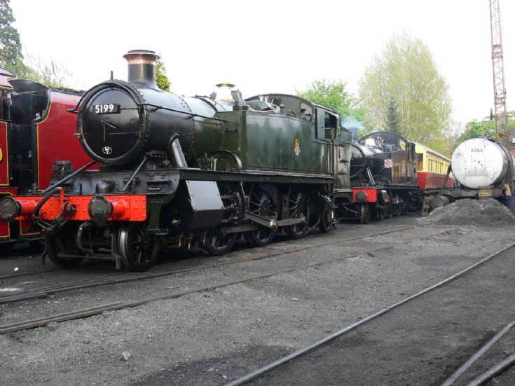 Steam Locomotives 5199 and 5526