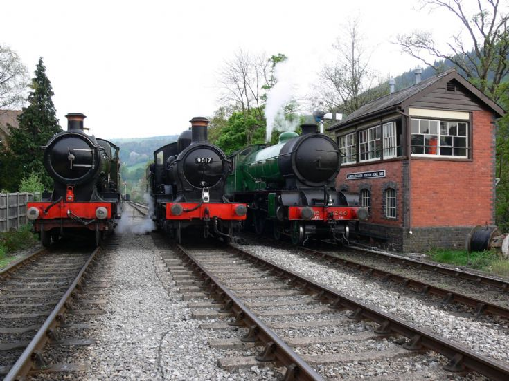 4-4-0 locomotives steam line-up