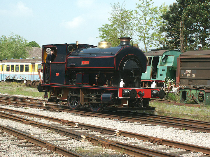 Steam locomotive 'Fred'
