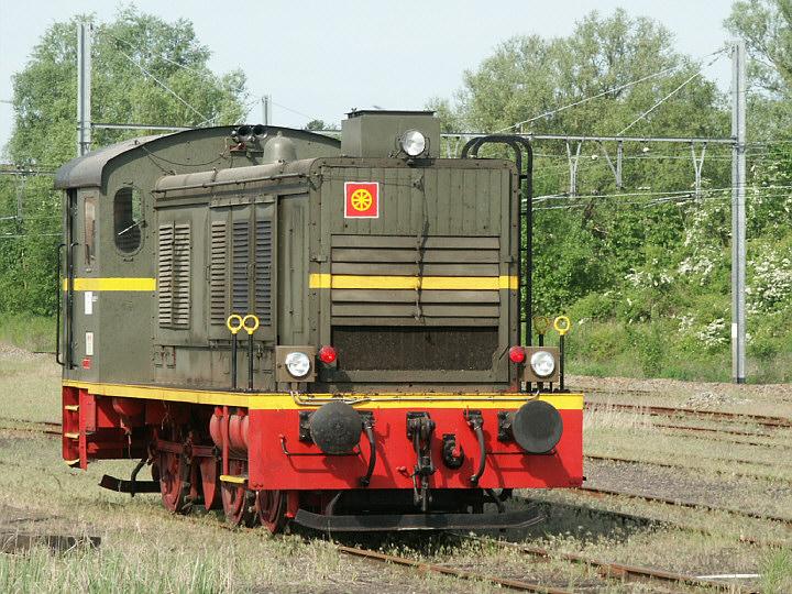Diesel shunter St. Ghislain Belgium