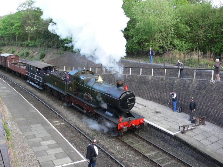 Steam locomotive City of Truro