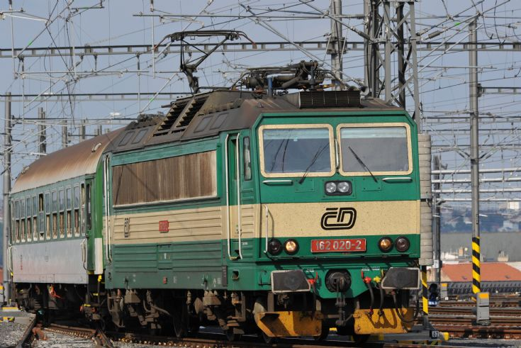Electric locomotive ČD 162 020-2