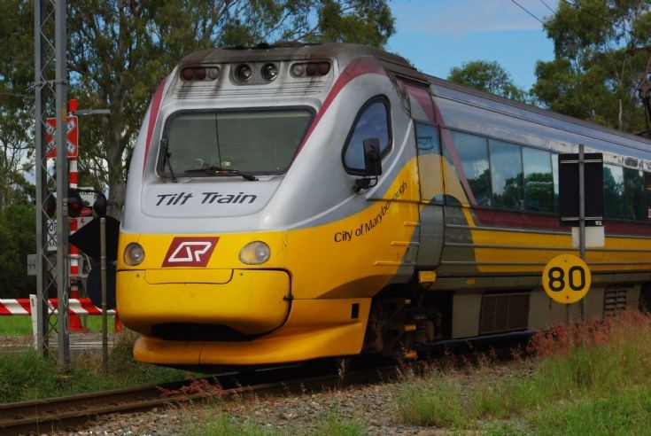 'City of Maryborough' Tilt Train