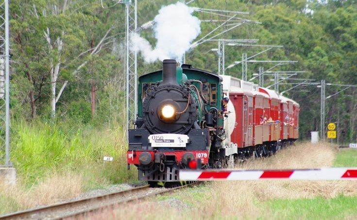 Australian Steam Locomotive 1079
