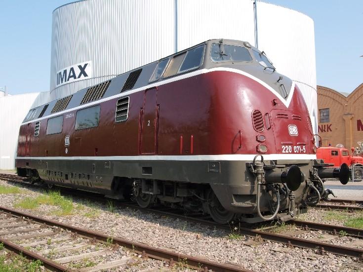 Speyer museum DB V200 class locomotive