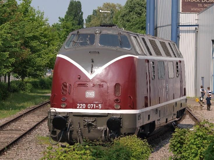 V200 Diesel locomotive Speyer museum
