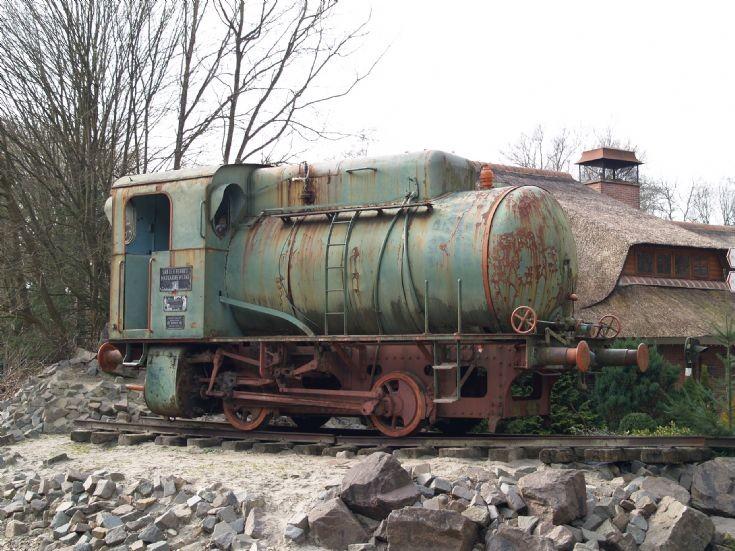 old Krupp locomotive
