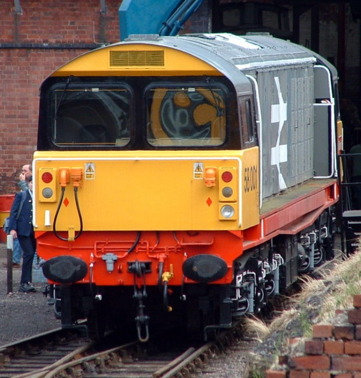 58001 - a BR Class 58 diesel loc