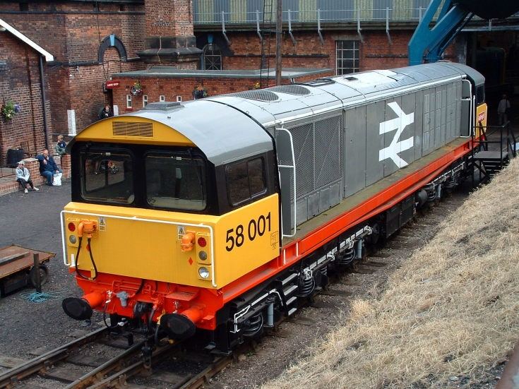 Preserved BR class 58