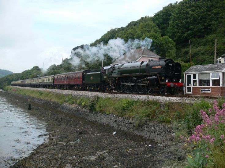 Britannia Class locomotive Oliver Cromwell