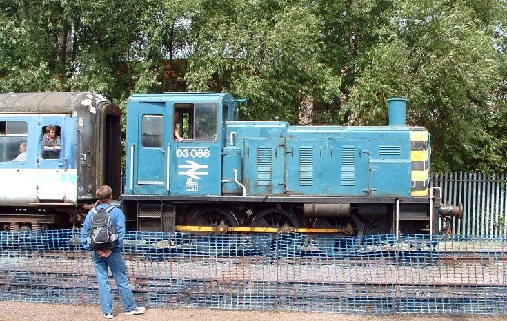 BR Class 03 diesel shunter 03066