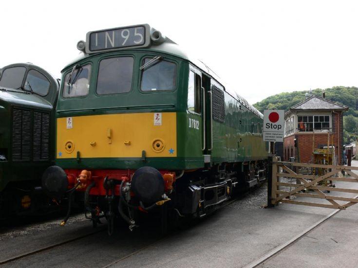 D7612 at the South Devon Railway