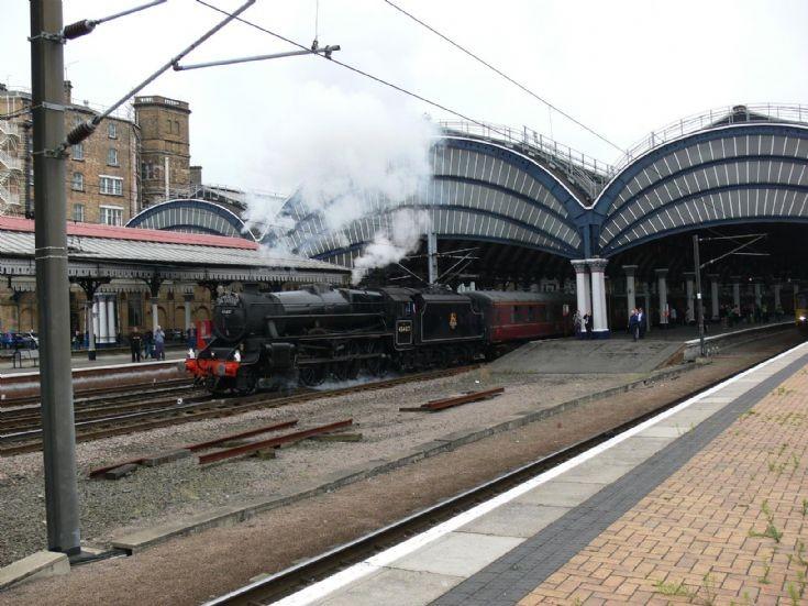 45407 departing York