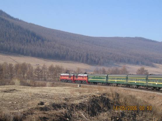 Photo of Train No.004 Moscow to Beijing