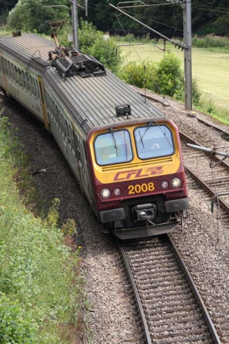 CFL train 2008 Luxembourg