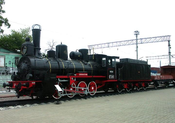 Ov-841 Russian 0-8-0 freight locomotive