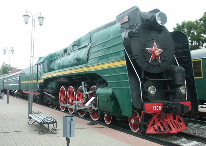 P36-0001 4-8-4 passenger locomotive