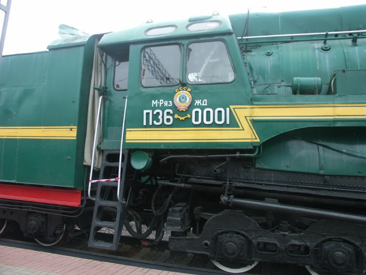 P36-0001 4-8-4 locomotive cab