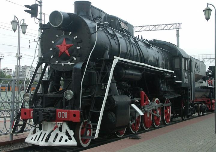 Pobeda P-0001 2-10-0 freight locomotive