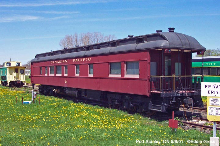 Canadia Pacific Wagon at Port Stanley