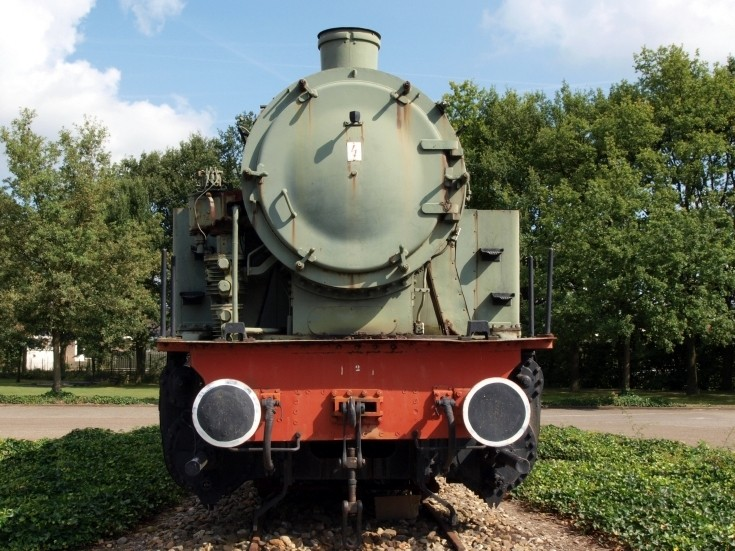 Old Locomotive Front View Train Photos