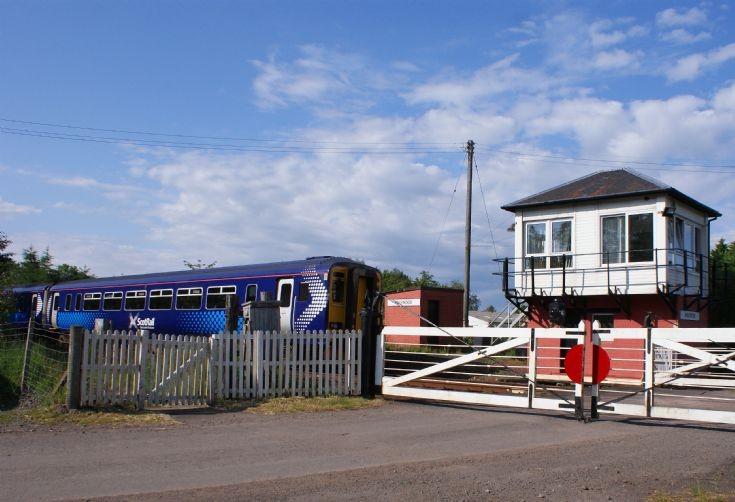 Old Gates-Modern Train