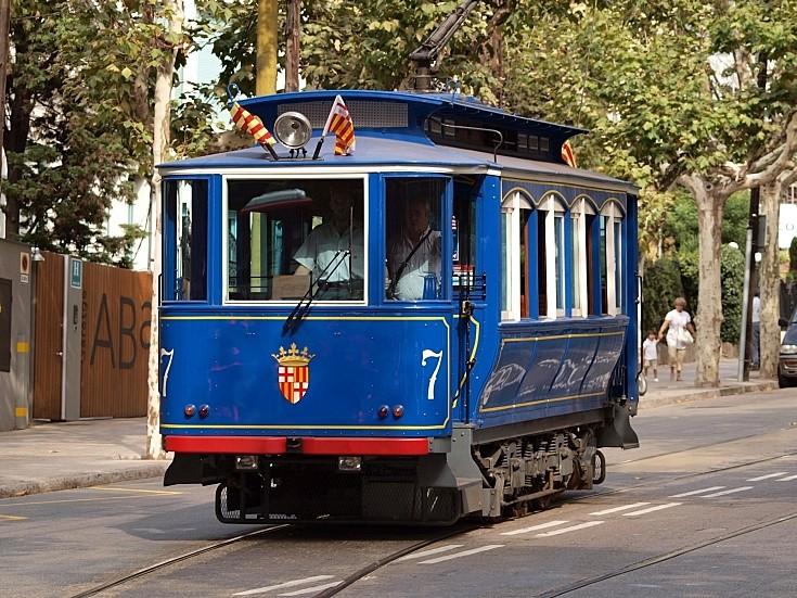 Heritage tram number 7