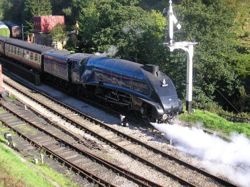 Sir Nigel Gresley, North Yorkshire Moors Railway