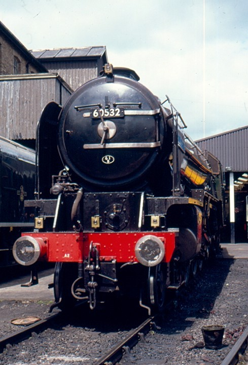 Steam locomotive 60532