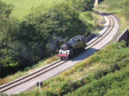 Standard Class 4MT No 80135 at Darnholm