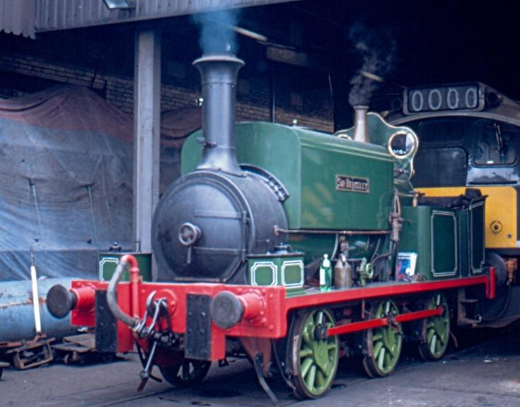 'unidentified' 0-6-0 steam locomotive