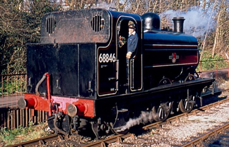GNR J52 steam locomotive 68846