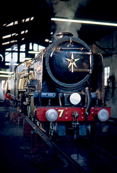 Elevated locomotive