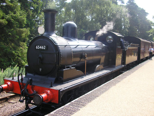 65462 Class J15 Steam Loc on the Poppy Line