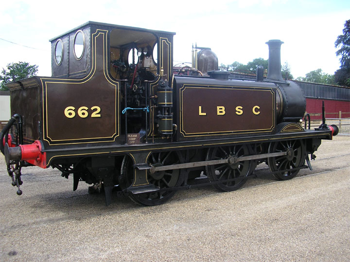 LBSC No 6620-6-0 Class A1 Tank at Bressingham