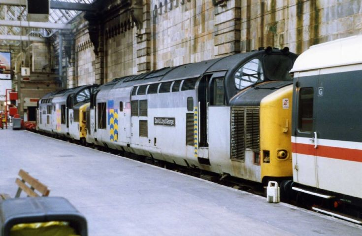 Resting at Glasgow Central