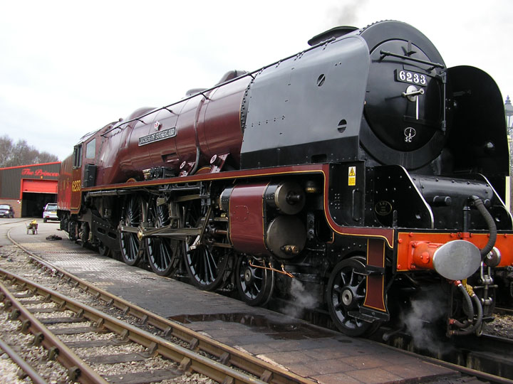 Picture of Steam Train The Duchess of Sutherland