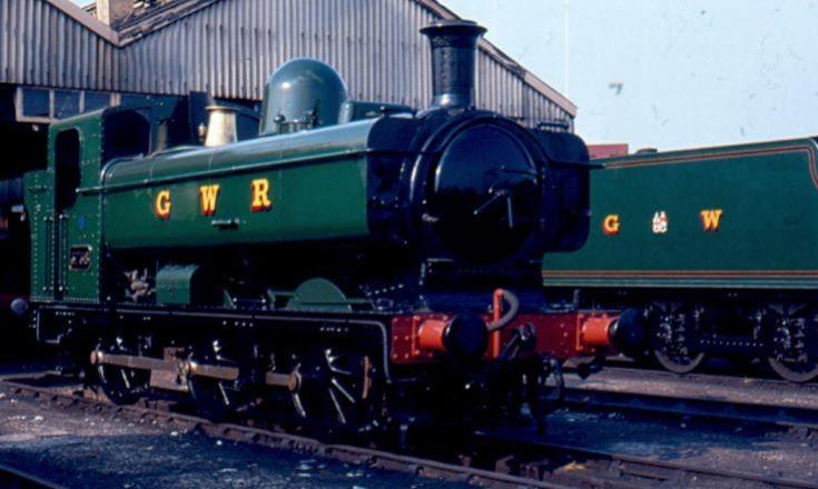 GWR 5700 pannier tank class locomotive