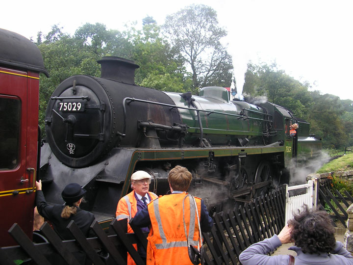 North Yorkshire Moors Railway Steam locomotive