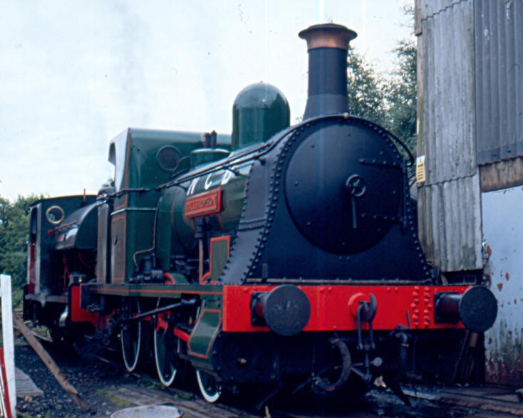 NCB steam locomotive