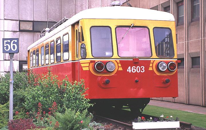 SNCB/NMBS 4603 at Charleroi Sud