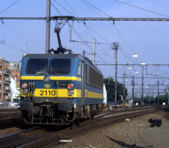 NMBS 2110 (Belgian Series 21) Electric Locomotive