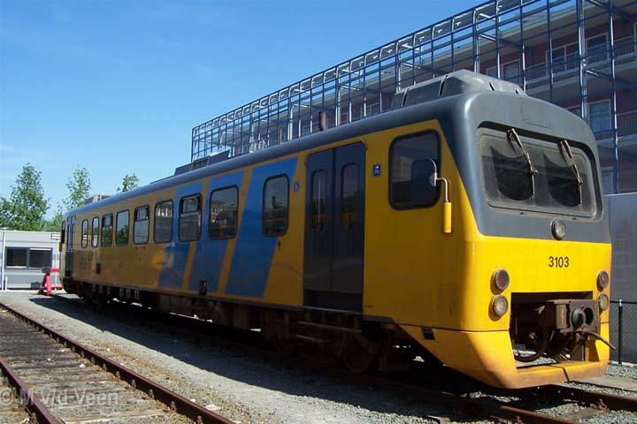 Wadloper 3103 Dutch railways Leeuwarden