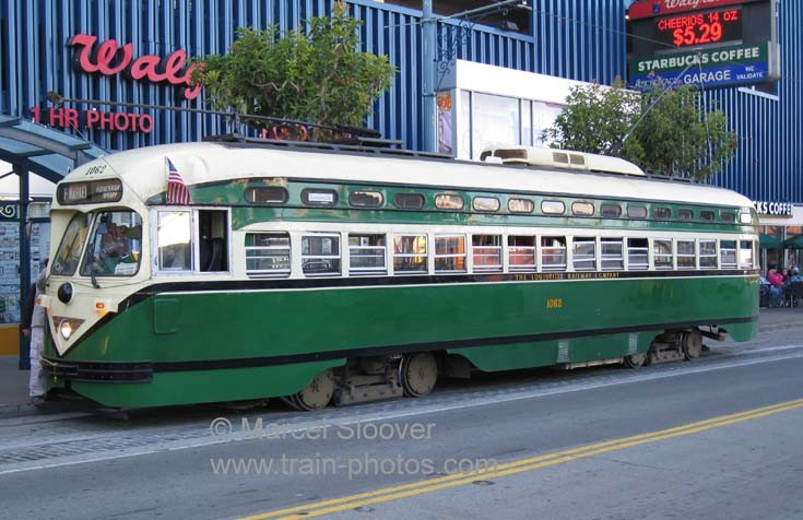 Line F San Francisco PCC 1062