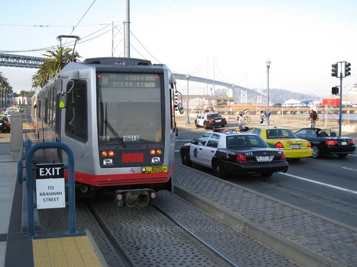 Muni line N San Francisco