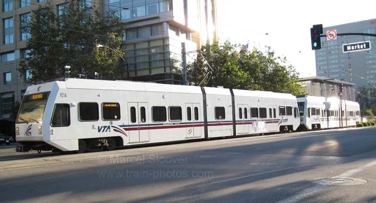 VTA Light rail San Jose