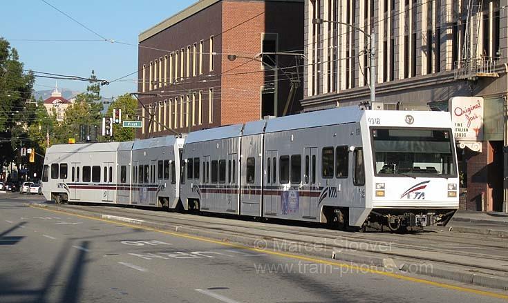 San Jose VTA Light Rail